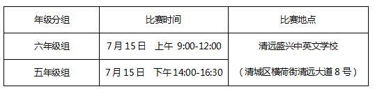 """2017""""妙语连珠""""成语大赛清远市现场赛方案"""